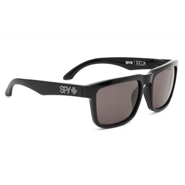 b39399dc15 Spy Optic Helm Rectangle Sunglasses - (Black Frame Grey Lens)
