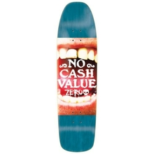 Zero Skateboard No Cash Value R7 Teal Deck