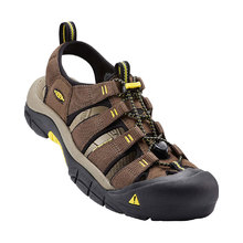 Keen Newport H2 Mens Sandal - Dark Earth Acacia