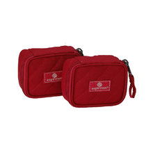 Eagle Creek Pack-It Original Quilted Mini Cube Packing Case Set - Red Fire