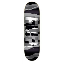 Flip Skateboard Deck Odyssey Torn Grayscale Team 32.31 in 8.25 in Flip