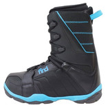 Find Stealth Black/Blue Zone Snowboard Boots