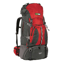 BlackWolf Bugaboo Trek Hiking Travel Pack 60+10 - Chilli