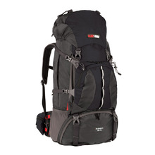BlackWolf Bugaboo Trek Hiking Travel Pack 70+10 - Black