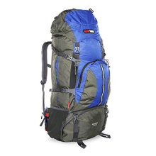 BlackWolf Bugaboo Trek Hiking Travel Pack 70+10 - Blue