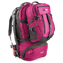BlackWolf Cedar Breaks 55 Hiking Travel Pack - Magenta