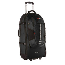 BlackWolf Grand Tour 65 Rolling Travel Pack - Black