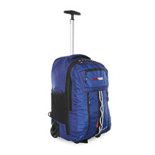 BlackWolf Inertia Wheeled Backpack - Blue