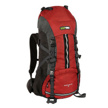 BlackWolf Mountain Ash 55 Trek Hiking Travel Pack - Chilli Charcoal
