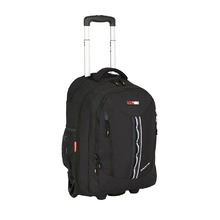 BlackWolf Momentum Wheeled Backpack - Black