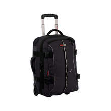 BlackWolf Kinetic Wheeled Luggage Bag - Black