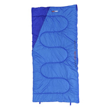 BlackWolf King Camper Sleeping Bag - Ocean/Blue