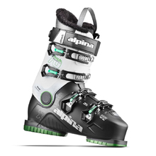 Alpina XTRACK 70 White-Black-Green Men's Ski Boots - 295