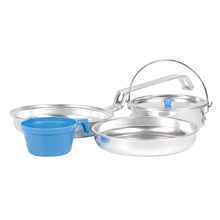 Elemental 5 Piece Aluminium Mess Kit