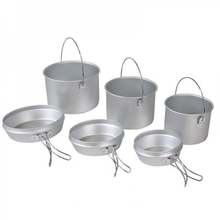 Elemental 6 Piece Aluminium Cook Set