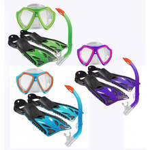 Land & Sea Nipper Kids Mask, Snorkel & Fins Set
