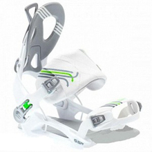SP Snowboard Bindings Rage FT540 Private white L