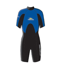 Land & Sea Adult 2mm Springsuit Blue