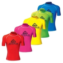 Adrenalin High Visibility Short Sleeve Adult Rash Vest