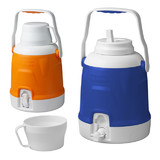 Caribee 5L Jug With Removable 0.5L Top Mount Drinking Cup