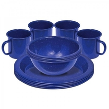 Campfire 12 Piece Enamel Dinner Set