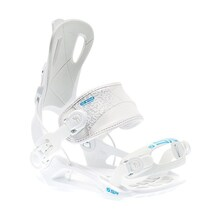 SP Snowboard Bindings RAGE FT 270 White Small