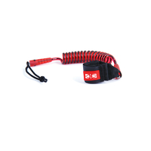 Ocean & Earth Surf Ski Paddle Coil Leash Cord