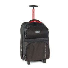 Ocean & Earth Mens Carry On Wheel Bag - Black 33 Ltr.