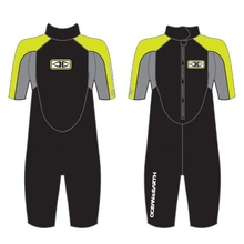 Ocean & Earth Boys Free Flex Spring Suit 2/2 Black / Lime