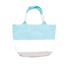 Ocean & Earth Ladies Beach Bum Canvas Bag Aqua