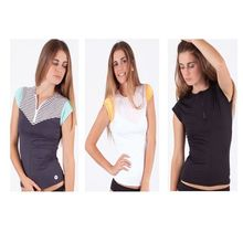 Ocean & Earth Ladies Champiette Cap Sleeve Rash Vest