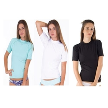 Ocean & Earth Ladies Cosmic Short Sleeve Rash Vest