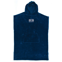 Ocean & Earth Deep Blue Mens Corp Hooded Poncho