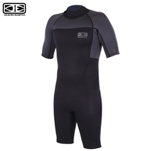 Ocean & Earth 2mm Black Mens Back Zip Free-Flex Spring Suit