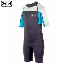 Ocean & Earth 2mm Blue Boys Back Zip Free-Flex Spring Suit