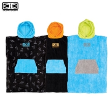 Ocean & Earth Kids Hooded Poncho