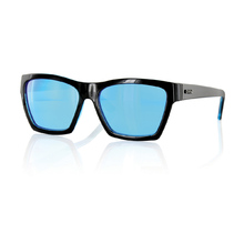 Carve Hostile Black C/Blue Revo Sunglasses