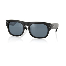 Carve King Cobra Black with White Stripe Polarised Sunglasses