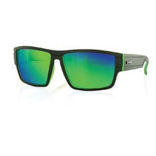 Carve Sublime Matt Blk/Green Revo Sunglasses