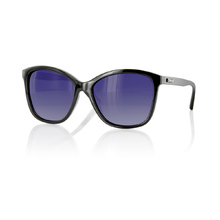 Carve Lila Women's Black Polarized Sunglasses