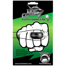 Line Cutterz BLACK Ring Fishing Line Cutter