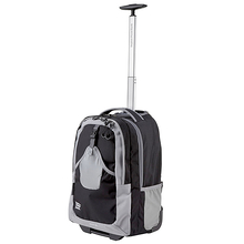 Explore Planet Earth Alcor 45L Black Wheelie Bag