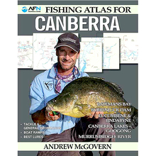 AFN Fishing Atlas for Canberra Guide Book