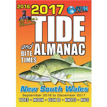 AFN 2017 Tide and Bite Times New South Wales Pocket Guide Book