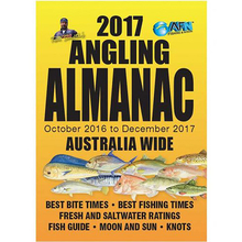 AFN 2017 Angling Almanac Pocket Guide Book