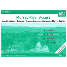 AFN Spatial Vision #12 Jingellic To Murray Source Murray River Access Map
