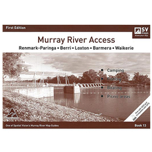 AFN Spatial Vision #13 Renmark To Waikerie Murray River Access Map