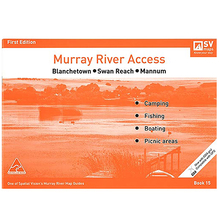 AFN Spatial Vision #15 Blanchetown To Mannum Murray River Access Map
