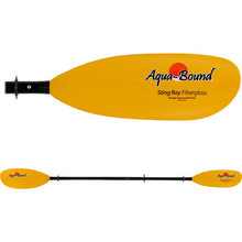 Aquabound Sting Ray Fiberglass Yellow Paddles