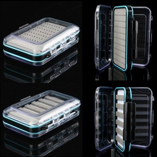 Double-side Fishing Box Waterproof Fly Fishing Box Fishing Tackle Box